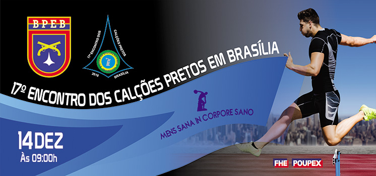 17º Encontro dos Calções Pretos em Brasília
