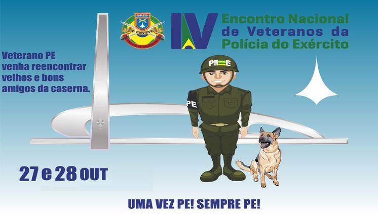 IV Encontro Nacional de Veteranos da Polícia do Exército
